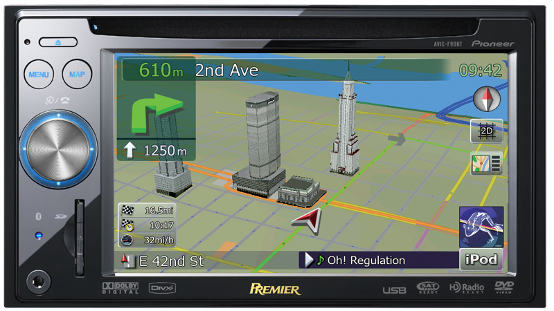 Pioneer Car Audio Navigation Systems